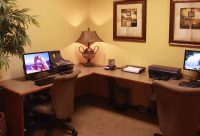Business Center at Finisterra Luxury Rentals in Tucson, AZ.jpg