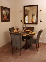 Model 2 Dining Room at Finisterra Luxury Rentals in Tucson, AZ.jpg