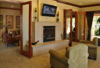 Movie theater in the clubhouse  at Finisterra Luxury Rentals in Tucson, AZ.jpg