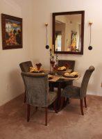 Model 2 Dining Room at Finisterra Luxury Rentals in Tucson, AZ.jpg