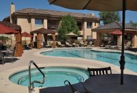 Swimming Pool with Spa at Finisterra Luxury Rentals in Tucson, AZ.jpg
